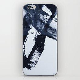 Ivory Black iPhone Skin