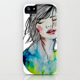 Kindness is an inner desire iPhone Case