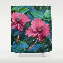 Pink Princess Flowers Shower Curtain