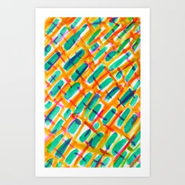 Crossed Art Print