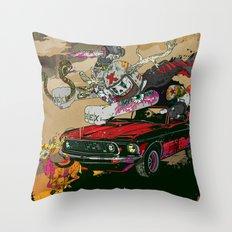 Psilopsychonaut Throw Pillow