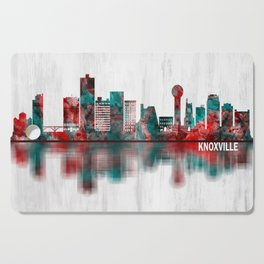 Knoxville Tennessee Skyline Cutting Board