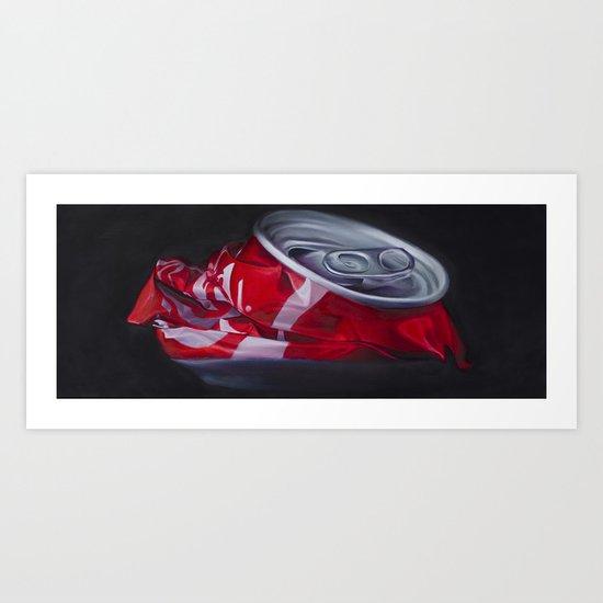 Crunch Art Print