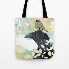 Feeling Fabulous Birds Tote Bag