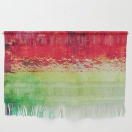 Modern Texture Red Abstract Wall Hanging