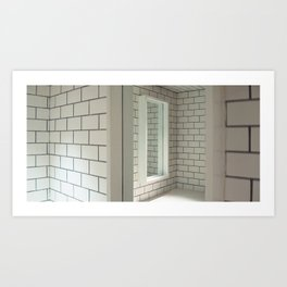 Tiles & Mirrors Art Print