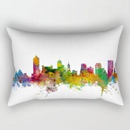 Memphis Tennessee Skyline Rectangular Pillow