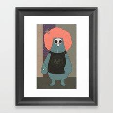 King of the streets Framed Art Print