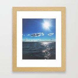 Kentucky Lake View Framed Art Print
