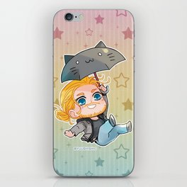 Flying Thor iPhone Skin