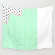 MEMPHIS GREEN Wall Tapestry