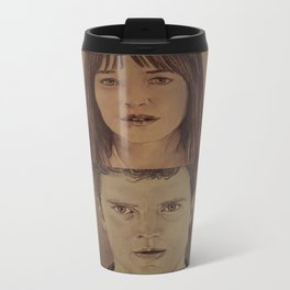 Christian and Ana elevator 2/2 - FIFTY SHADES OF GREY Travel Mug