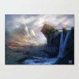 Gates to Erindor Canvas Print