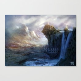 Gates to Erindor Canvas Print