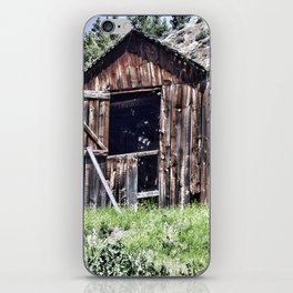 Old Western Barn iPhone Skin