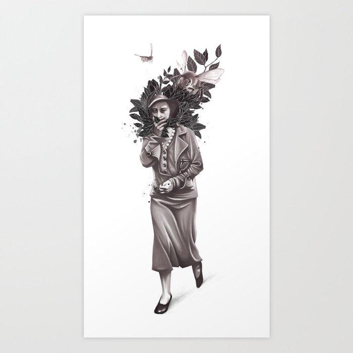 Allergic Art Print