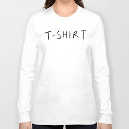 tshirt tshirt Long Sleeve T-shirt