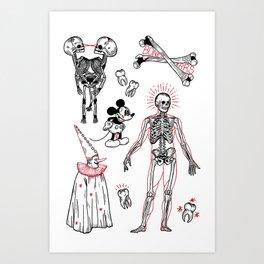 Bonerrrs Art Print
