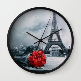 Bouquet for Parisienne Wall Clock