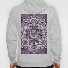 Mandala Grayish Purple Colorburst Hoody