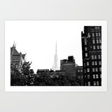 Spire of the Empire NYC Art Print