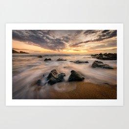 Kinnagoe Bay | Ireland  (RR80) Art Print