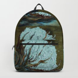 Four Square Cotton Backpack