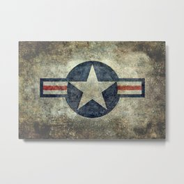 USAF Roundel Metal Print