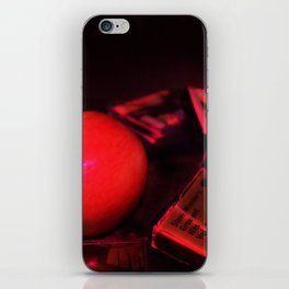 Apple and Cassettes iPhone Skin