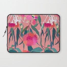 Australian Gumnut Eucalyptus Floral in Dusty Peach Laptop Sleeve