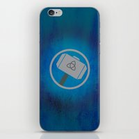 thor iPhone & iPod Skins featuring Thor by Some_Designs