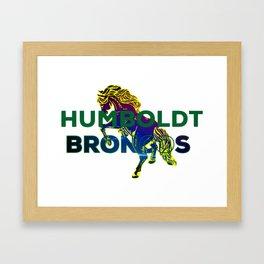 Humboldt Strong Framed Art Print