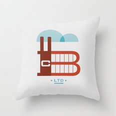 The Factory Throw Pillow