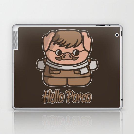 Hello Porco Laptop & iPad Skin