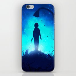 To The Light Of The Night iPhone Skin