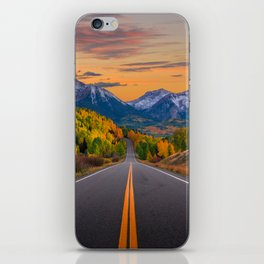 The Road To Telluride iPhone Skin