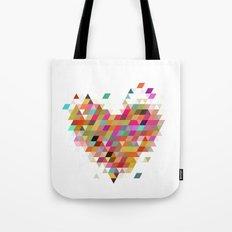 Heart1 White Tote Bag