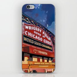 Wrigley Field iPhone Skin