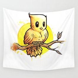 Stop Overthinking This Gosh Darn Crap and Just Draw a Bird! Wall Tapestry