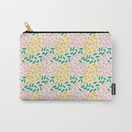 Field of lines in pastel Carry-All Pouch