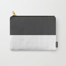 Black and White #Minimal Carry-All Pouch