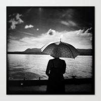 umbrella Canvas Prints featuring Umbrella by Jean-François Dupuis