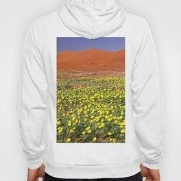 Flowers in the Namib desert, Namibia Hoody