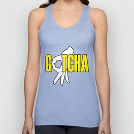 Gotcha The Circle Game Yellow Unisex Tank Top