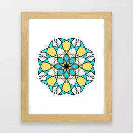 Infi-ity Circ-e Framed Art Print