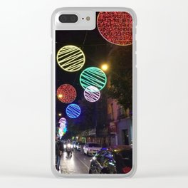 Night in the city Clear iPhone Case