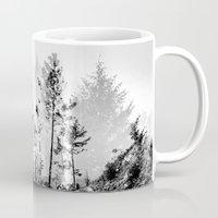 woodland Mugs featuring Woodland by Schwebewesen • Romina Lutz
