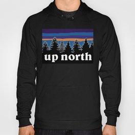 up north, blue & purple Hoody