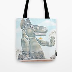 Tobias the dog. Tote Bag