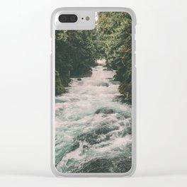Mckenzie River Clear iPhone Case